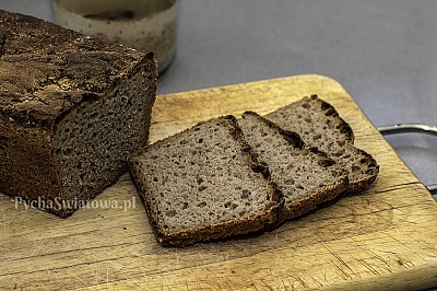 Chleb żytni na zakwasie klasyczny